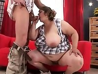 amatuer queen of the blowjob